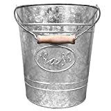 VINTAGE FARMHOUSE CHIC DÉCOR – Add a contemporary spin to the old-world classic farmhouse style with Autumn Alley Galvanized Trash Can. Our galvanized trash can bucket is an absolute industrial farmhouse decor must-have – one of the best rustic decor...