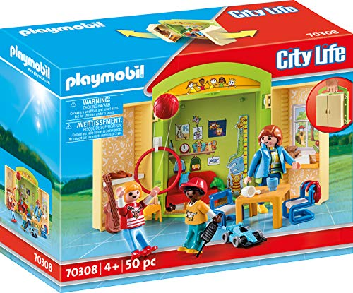 Playmobil City Life 70308 - Play Box 'Asilo', dai 4 anni