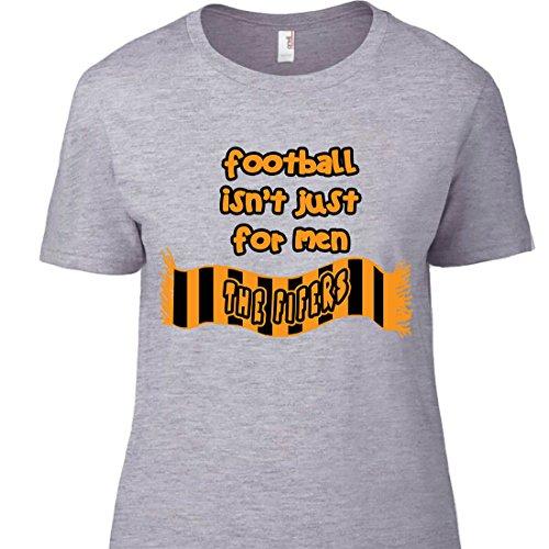 MagnetsandHangers East Fife - Camiseta para mujer (talla 5) Gris gris XXL (pecho 114 cm)