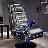 X Rocker Evo Pro 4.1 Chair Gaming-Stuhl, schwarz, XXL