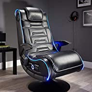 NEO FIBRE LED LIGHTING - Console gaming chair with innovative LED lighting technology. Choose colours across the full RGB colour spectrum for a unique and colourful glow to your gaming setup. 4.1 MULTI STEREO SOUND SYSTEM - Integrated surround sound ...
