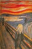1art1 Edvard Munch - Der Schrei, 1893 XXL Poster 120 x 80
