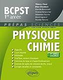 Physique-chimie BCPST-1 - 2e édition actualisée
