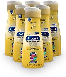 Enfamil PREMIUM Non-GMO Infant Formula - Ready to Use Liquid, 32 fl oz (6 count)