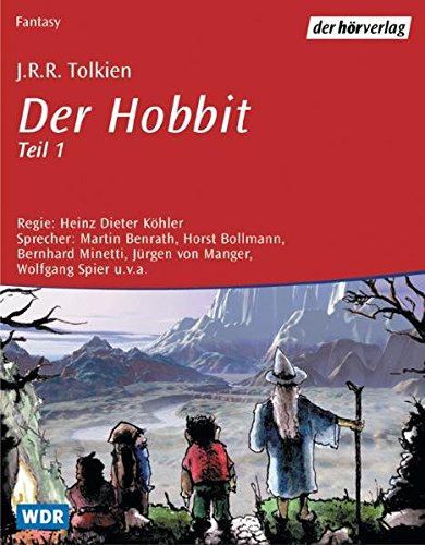 Der Hobbit. Audiobook. 4 CDs.