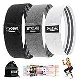 SYOSIN Bande Elastiche di Resistenza,Elastici Fitness(3 Pezzi), 3 Livelli di Resistenz...