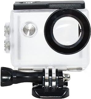 TEKCAM actionkamera vattentätt fodral kompatibelt med AKASO EK7000/EKEN H9R/FITFORT 4K/DBPOWER EX5000 sportkamera undervat...