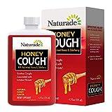 Naturade Honey Cough with Buckwheat Honey & Elderberry – 4.2 fl oz