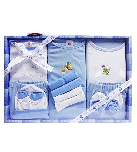 Mini Berry 13 Piece Unisex Baby's Gift Set (Blue)