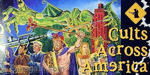 Preisvergleich Produktbild Atlas Games 1210 - Cults Across America
