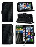 For HTC U11 Dual SIM (2017) - MobiBax Prime Textured Carbon