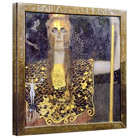 "Gustav Klimt Print Framed /""Museum/"" 30  X 30 Inches Canvas"