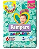 IRPot - 6 PACCHI PANNOLINI PAMPERS BABY DRY TAGLIA 6 90PEZZI