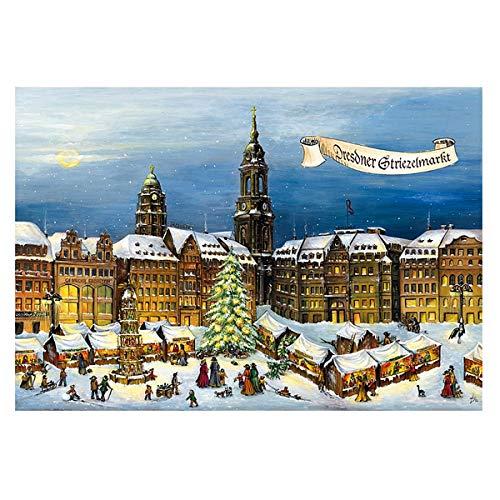 Adventskalender Dresdner Striezelmarkt