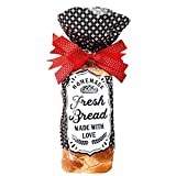 Gift Bread Bags For Homemade Bread, Perfect For Small Loaves, Special Occasions, Everyday Use With Sourdough And More!