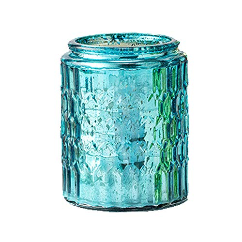 Candles for Home Scented, Large Citronella Candles Outdoor Indoor Candle Made with Natural Soy Wax And Essential Oils (6 Colors/Scents),Blue