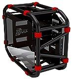 InWin D-Frame Mini Black Motorcycle Steel Tube Mini- ITX Computer case