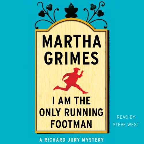 I Am the Only Running Footman audiobook cover art