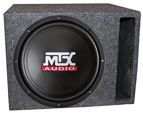 "MTX TN12-02 12"" 400 Watt Car Audio Bass Subwoofer + Vented Ported Box Enclosure"