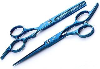 Professional Barber 6.0 Inch Hair Snijden Scharen Verdunnende Shears RVS Set High-End kappers Design Tool Stylist Salon Ha...