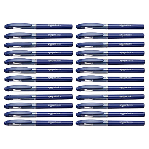 Amazon Basics Micro Point Rollerball Pen 24 Pack Only $8.70 (Retail $12.90)