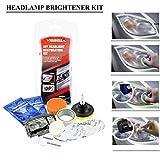 Leisuretime Auto-Scheinwerfer-Polier-Satz, Scheinwerfer-Wiederherstellungs-Ausrüstungs-Kratzer-Poliermittel-Scheinwerfer-Reparatur-Beschichtungs-Aufheller