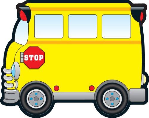 Carson Dellosa – School Bus Colorful Cut-Outs, Classroom Décor, 36 Pieces