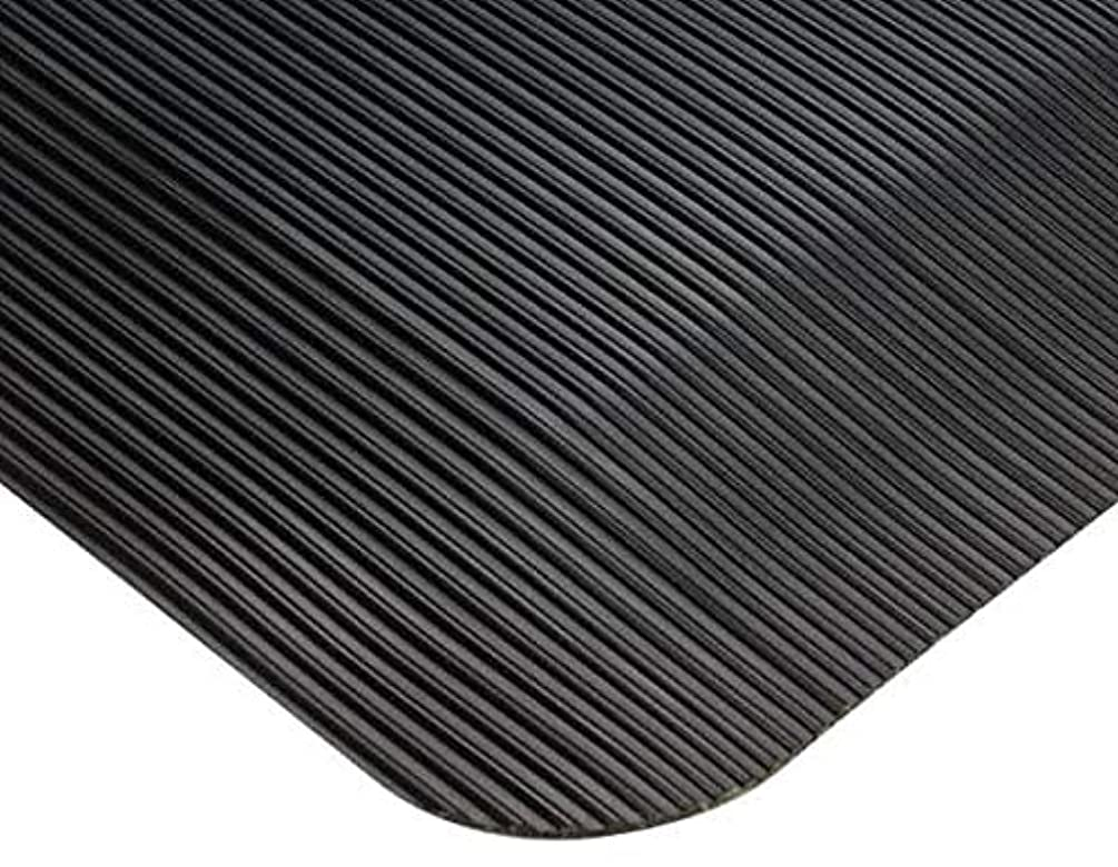 Wearwell - 3 Ft. Long x 2 Ft. Wide, Dry Environment, Chemical and Cutting Fluid Resistant, Ribbed Anti Fatigue Matting (3 Pack)
