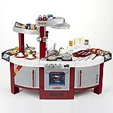 Theo Klein 9125 Cocina para niños que se puede utilizar por ambos lados, Placa de cocción con...