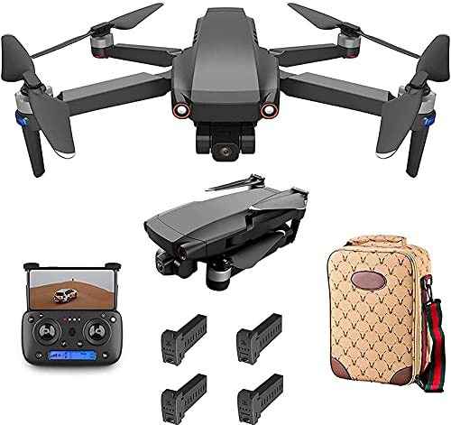 Daily Accessories Drone Foldable GPS Drone with Camera 8K for Beginners Mini Drone with Smart Selfie/Brushless Motor/Smart Return to Home/Follow Me/5G WiFi Transmission