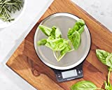 Zoom IMG-2 amazonbasics bilancia digitale da cucina