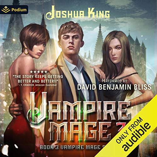 Vampire Mage, Book 3 cover art