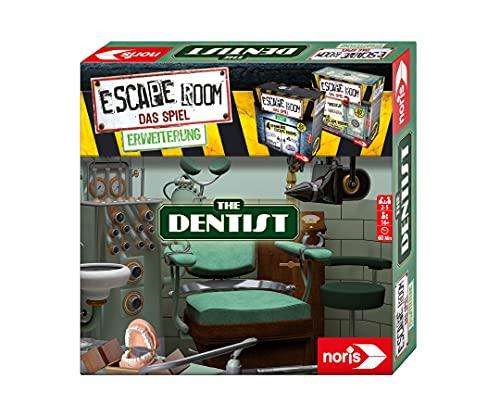 Noris 606101775 Escape Room Expansión The Dentist – Juego Familiar y de Sociedad para Adultos – Solo se Puede Jugar con el decodificador Chrono – a Partir de 16 años
