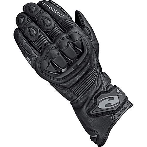 Held Motorradhandschuhe lang Motorrad Handschuh Evo-Thrux II Sport Handschuh schwarz 12, Herren, Sportler, Ganzjährig, Leder