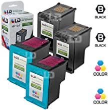 LD Remanufactured Ink Cartridge Replacement for HP 94 & HP 95 (2 Black, 2 Color, 4-Pack)