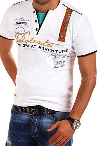 MT Styles 2in1 T-Shirt Adventure R-2693 [Weiß, 3XL]