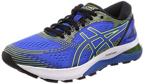 Asics Men's Gel nimbus 21 Running Shoes, Blue (Illusion BlueBlack 400), 13 UK, (49 EU)