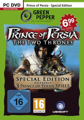 Prince of Persia: The Two Thrones - Special Edition (inkl. The Sands of Time, Warrior Within, The Two Thrones) [Green Pepper]