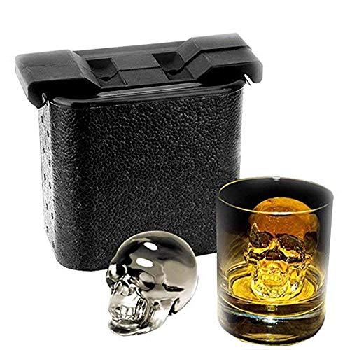 Damai 2 Kugelförmige Form für Whiskeys, Papier, Schwarz