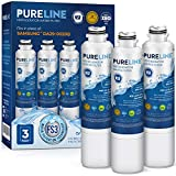 Pureline DA29-00020B Water Filter Replacement. Compatible with Samsung DA29-00020B-1, DA29-00020B, Haf-Cin Exp, RF4267HARS, RF28HMEDBSR, RF28HFEDBSR, & More Models (3 Pack)