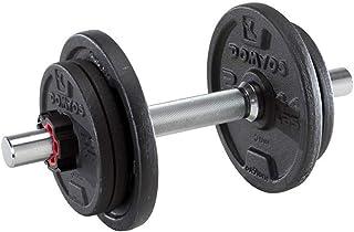 YC Mancuerna Dumbbell 10 kg de Peso con Mancuernas Ajustable Desmontable con Barra Inicio Deportes Equipo de la Aptitud Mancuernas Dumbbells Fitness y Ejercicio Mancuerna