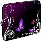 Sidorenko Tablet PC Tasche für 10-10.1 Zoll | Universal Tablet Schutzhülle | Hülle Sleeve Hülle Etui aus Neopren, Violett