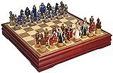 NIUZIMU Ajedrez para Tablero Harry Potter Juegos Chess Tridimensional Gran Resina Simulación Carácter Juego Juego Juego de Damas Occidentales Adulto Entretenimiento Familiar Collectio (Color : B)