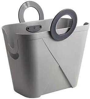 Panier de rangement Grand panier de rangement for vêtements sale portable Panier de rangement en plastique Panier de range...