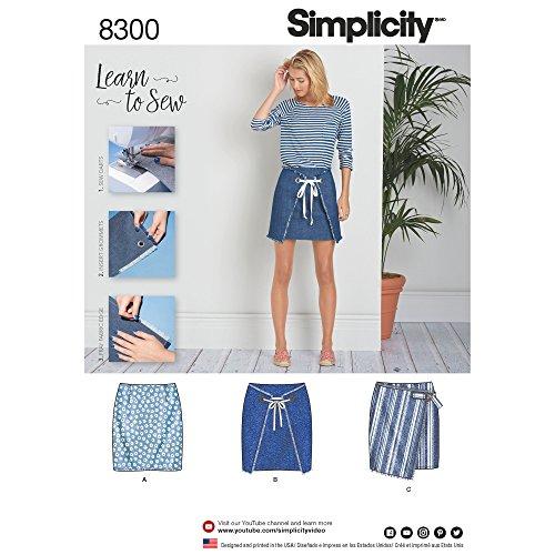 Simplicity Creative Patterns Sewing Pattern SKIRTS & PANTS, A (A (6-8-10-12-14-16-18)