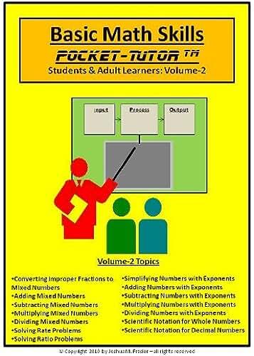 Basic Math Skills Pocket-Tutor Vol-2 (Pocket-Tutor Series) (English Edition)