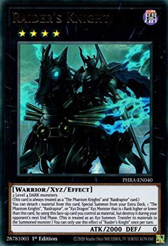 Raider's Knight - PHRA-EN040 - Ultra Rare - 1st Edition
