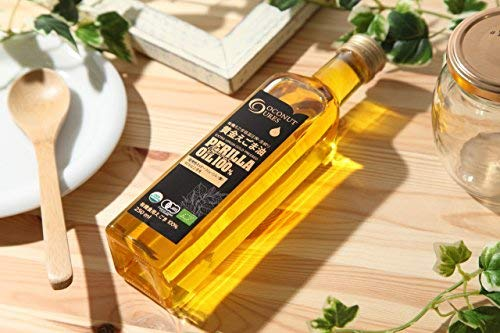 えごま油オーガニック100%有機JAS認定一番搾りプレミアム黄金egomaケトジェニック仕様(有機無添加天然非加熱)280gCOCOCURE