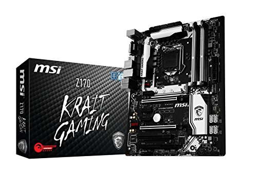 MSI Z170 Krait Gaming - Placa Base (Socket LGA 1151, 4 x DDR4 3600(OC) hasta 64 GB)