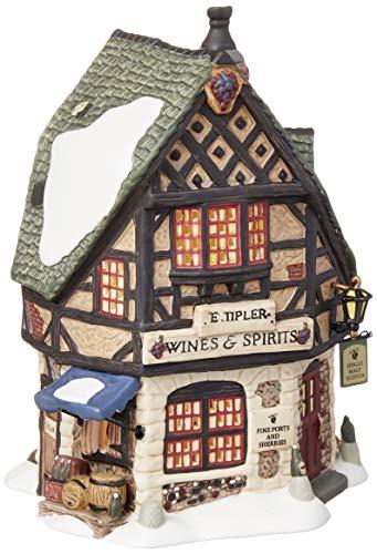 Department 56 Dickens' Village E Tipler Agent Wine Spirits Building